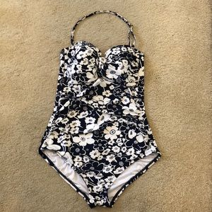 Anne Cole floral one piece bathing suit for $50